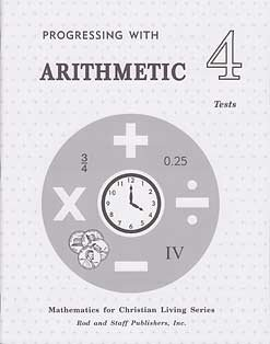 9780739904688: Progressing with Arithmetic 4 Tests