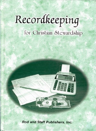 9780739904916: Recordkeeping for Christian Stewardship (Grades 9 and 10)