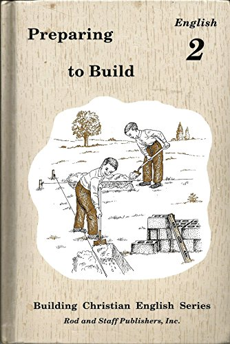 Preparing to Build : English 2: Rachel Christopher