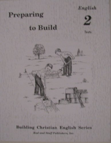 9780739905104: Preparing to Build: English 2 Tests (Building Christian English Series)