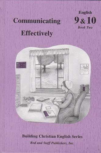 9780739905364: Communicating Effectively English 9 and 10 Book Two