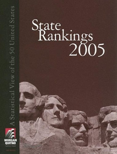 State Rankings: A Statistical View of the 50 United States: Morgan, Scott