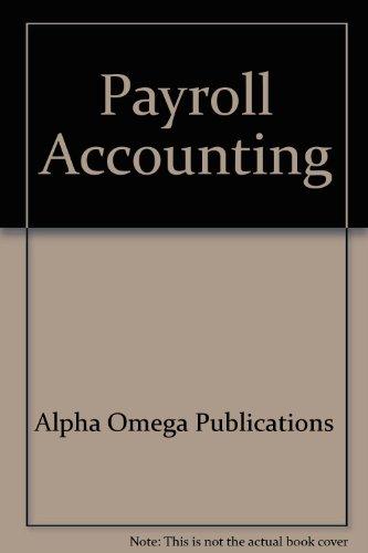 9780740301926: Payroll Accounting (Lifepac Electives Accounting)