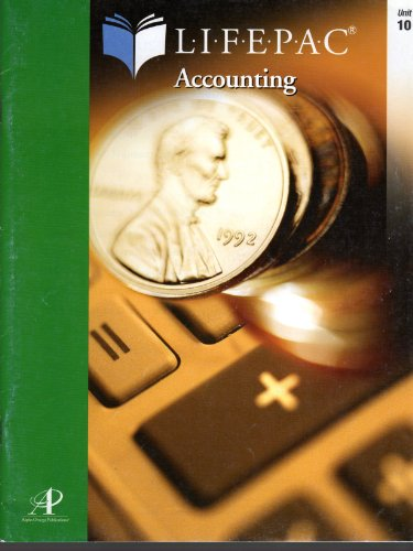 9780740301933: Accounting Lifepac 10: Business Simulation