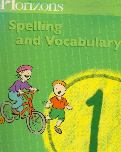 9780740302121: Spelling and Vocabulary 1 (Lifepac)