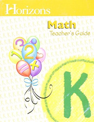 9780740303111: Horizons Math Kindergarten
