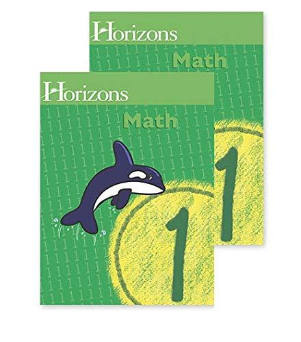 9780740325304: Horizons Math 1 SET of 2 Student Workbooks 1-1 and 1-2