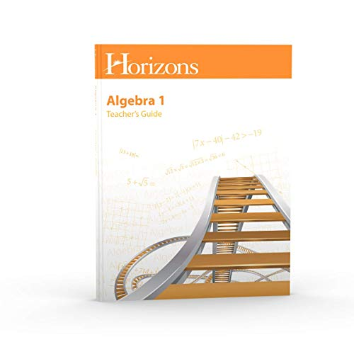 9780740325540: Horizons-Algebra 1 Teachers Guide