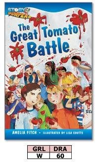9780740612022: Story Surfers® The Great Tomato Battle, Fiction