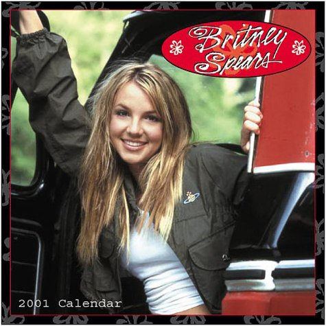 9780740704789: Britney Spears Mini 2001 Calendar