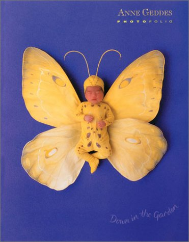 9780740708800: Anne Geddes Photofolio: Down in the Garden