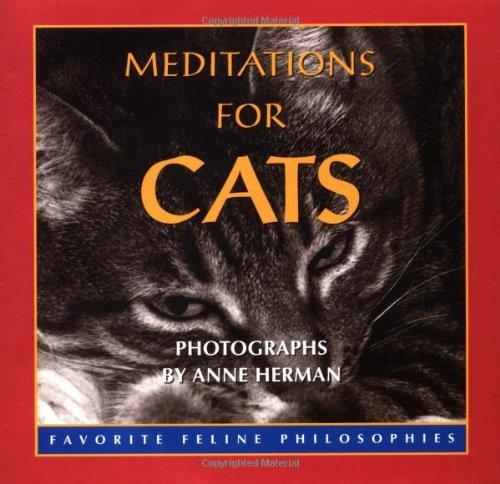9780740714634: Meditations For Cats