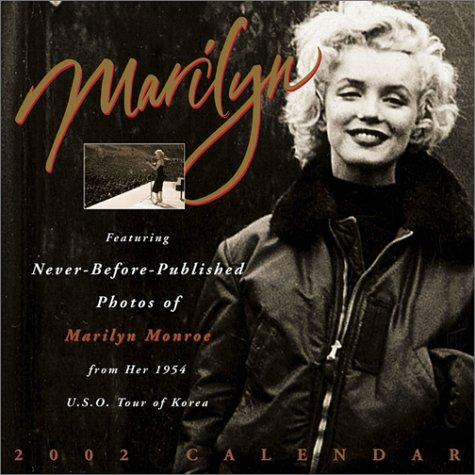 9780740716041: Marilyn Monroe 2002 Wall Calendar