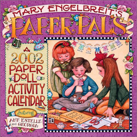 Paper Pals: 2002 Paper Doll Activity Calendar: Mary Engelbreit, Andrews McMeel Publishing