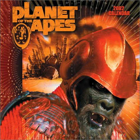 9780740717840: Planet Of The Apes 2002 Wall Calendar