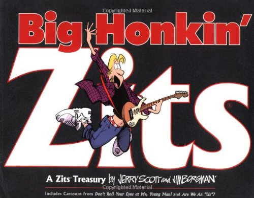 9780740718540: Big Honkin' Zits: A Zits Treasury