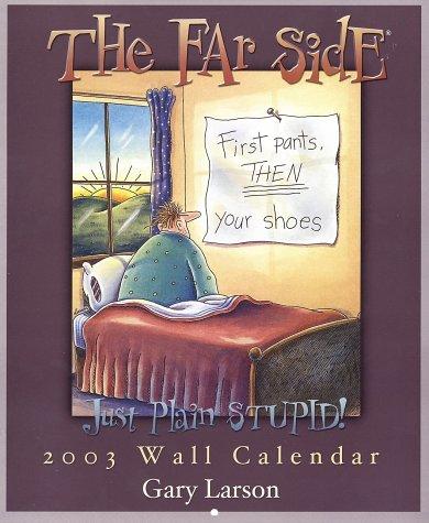 9780740723834: Far Side Gallery Wall Calendar: 2003