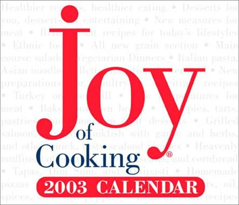 9780740723971: Joy of Cooking 2003 Calendar