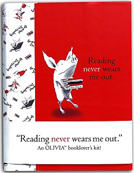 9780740729140: Reading Never Wears Me Out: An Olivia Booklover's Kit