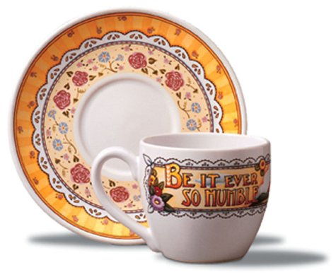 Teacup and Saucer: Be It Ever So Humble (9780740731327) by Mary Engelbreit
