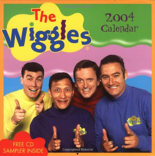 9780740737572: The Wiggles 2004 Calendar/With Free Cd Sampler (Wall)