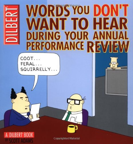 9780740738050: Words You Don't Want to Hear During Your Annual Performance Review: A Dilbert Book