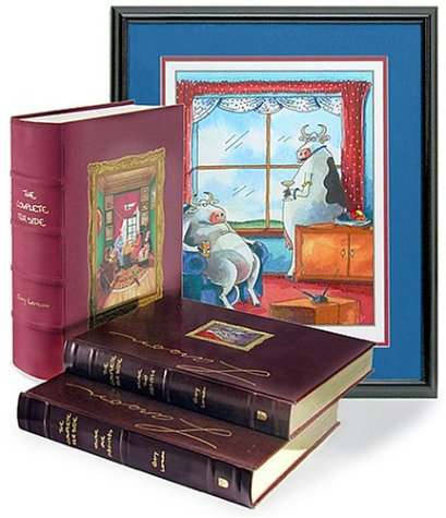 9780740743610: The Complete Far Side Leather-Bound Set [Signed Limited Edition]