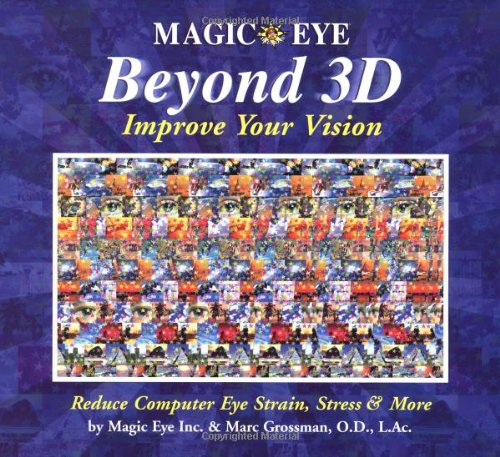 9780740745270: Magic Eye Beyond 3D: Improve Your Vision with Magic Eye