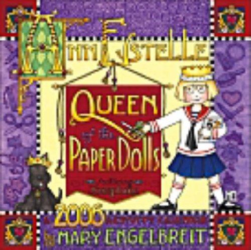 9780740749131: Mary Engelbreit's Ann Estelle: Queen of Paper Dolls 2006 Wall Calendar