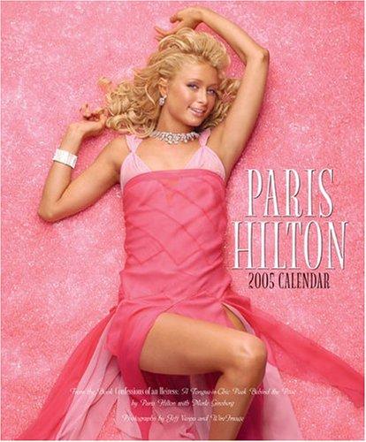 9780740750984: Paris Hilton: 2005 Wall Calendar
