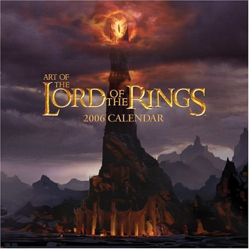 9780740751875: Art of the Lord of the Rings: 2006 Wall Calendar