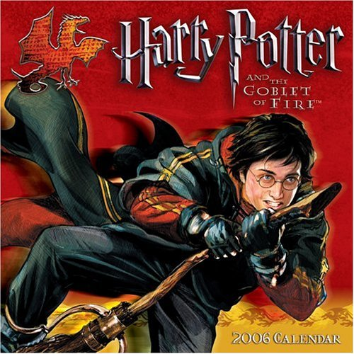9780740752285: Harry Potter and the Goblet of Fire 2006 Mini Wall Calendar