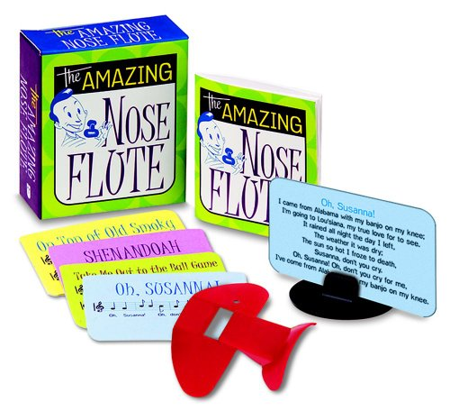 9780740753305: The Amazing Nose Flute [With 4 Song Cards and Colorful Plastic Nose Flute, Music Stand and Instruction Booklet]
