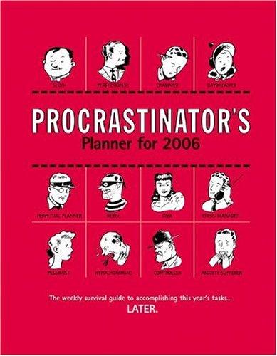 9780740753671: Procastinator's Planner 2006: Desk Calendar