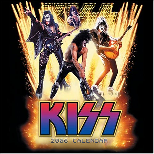 9780740753992: Official Kiss Calendar