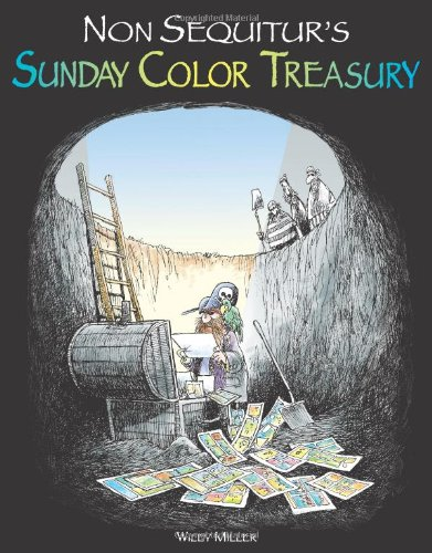 9780740754487: Non Sequitur's Sunday Color Treasury