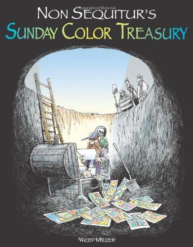 9780740754487: Non Sequitur's Sunday Color Treasury