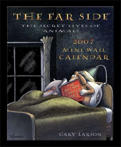 9780740759024: The Far Side 2007 Mini Wall Calendar: The Secret Lives of Animals
