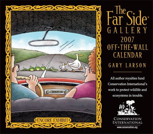 9780740759246: The Far Side Gallery: Off the Wall Calendar
