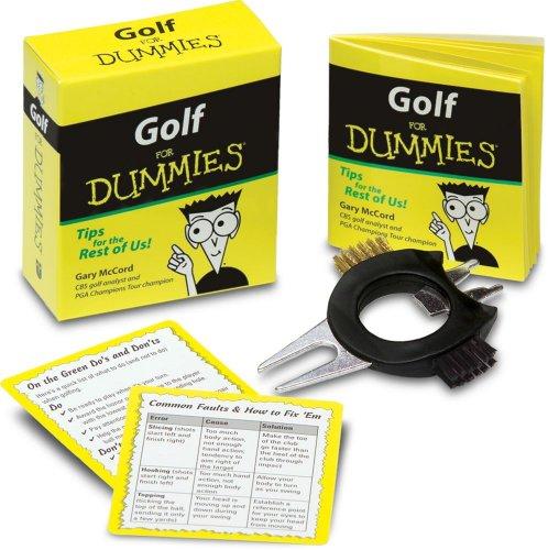 9780740763816: Golf For Dummies Kit
