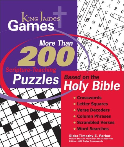 King James Games: More Than 200 Scripture-Teaching: Parker, Timothy E