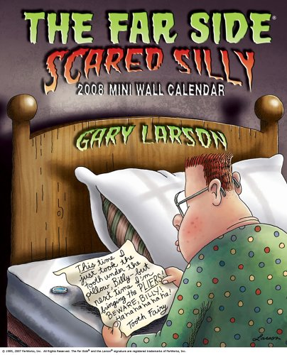 9780740766251: The Far Side ® Scared Silly: 2008 Mini Wall Calendar