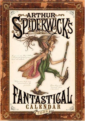 9780740768224: Arthur Spiderwick's Fantastical Calendar: 2008 Wall Calendar