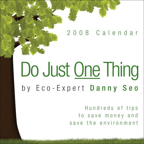 9780740769085: Do Just One Thing: 2008 Day-to-Day Calendar