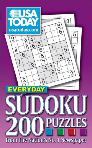 9780740769184: USA TODAY Everyday Sudoku: 200 Puzzles from The Nation's No. 1 Newspaper (USA Today Puzzles)