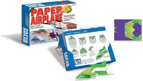 9780740771620: Paper Airplane: Fold & Fly It!: 2009 Day-to-Day Calendar