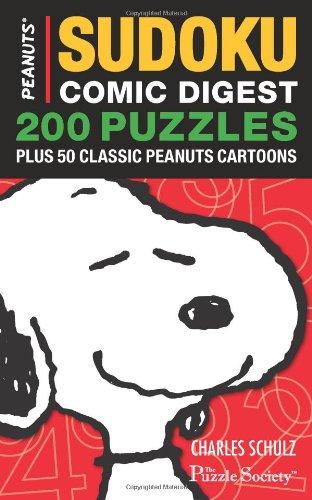 9780740772481: Peanuts Sudoku Comic Digest: 200 Puzzles Plus 50 Classic Peanuts Cartoons