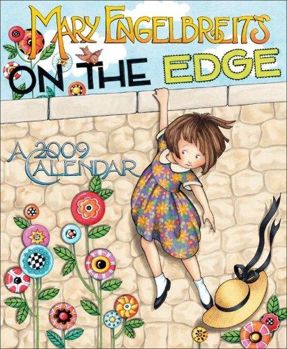 9780740772818: Mary Engelbreit's On the Edge: 2009 Wall Calendar