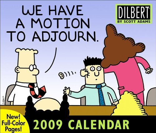 Dilbert: 2009 Day-to-Day Calendar: Adams, Scott
