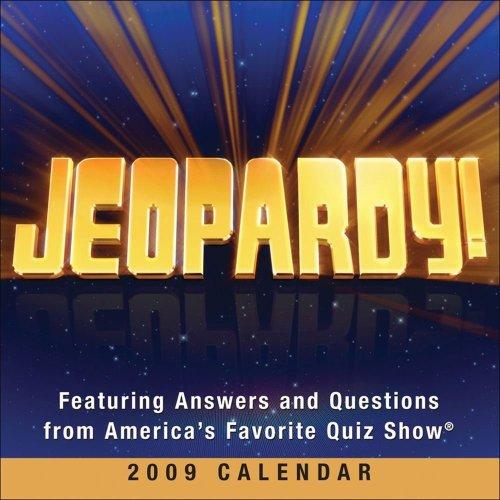 9780740774713: Jeopardy!: 2009 Day-to-Day Calendar